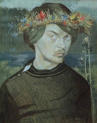 Drawing - Self-portrait by Ivar Arosenius