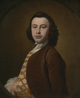 Painting - Self-portrait by William Keeble
