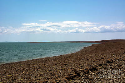 Sean Rights Managed Images - Serene Lake Turkana Royalty-Free Image by Morris Keyonzo