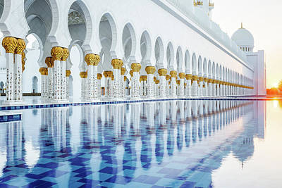 Photograph - Sheikh Zayed Grand Mosque by Nicole Young