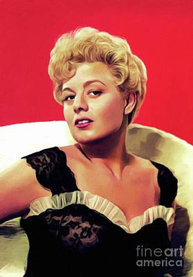 Royalty-Free and Rights-Managed Images - Shelley Winters, Vintage Actress by Esoterica Art Agency
