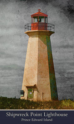 Photograph - Shipwreck Point Lighthouse by WB Johnston