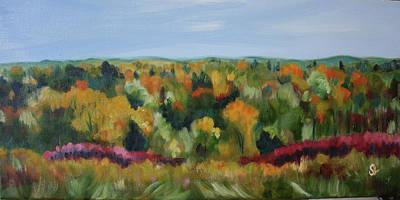 Painting - Short Hills Fall  by Sarah Lynch