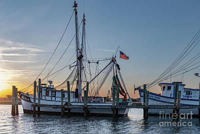 Photograph - Shrimp Boat Dreaming by Dale Powell