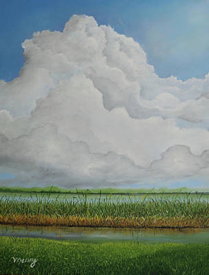 Painting - Silver Line by Alicia Maury