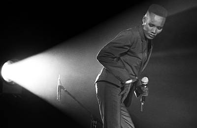 Photograph - Singer Grace Jones In Concert by George Rose