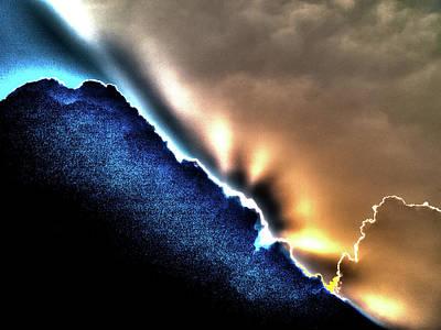 Photograph - Sky Light by Jorg Becker