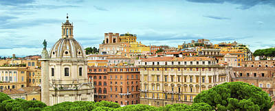 Photograph - Skyline Of Rome, Italy by Nikada