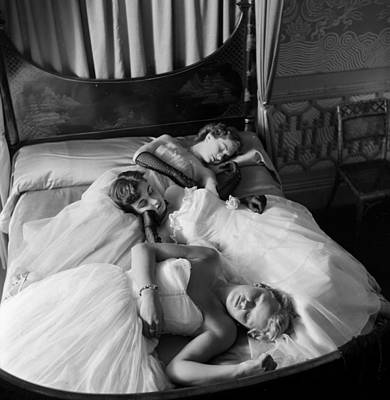 Photograph - Sleeping Beauties by Thurston Hopkins