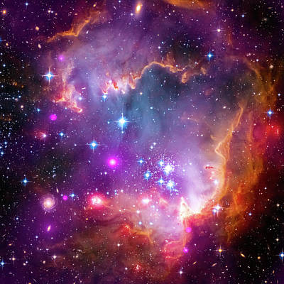 Photograph - Small Magellanic Cloud by Paul W Faust - Impressions of Light