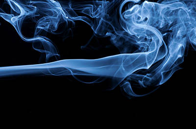 Morphing Photograph - Smoke by Assalve