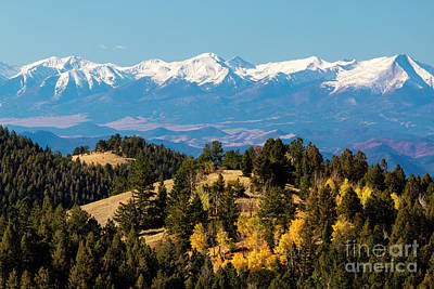 Photograph - Snow Capped Sangre De Cristo by Steve Krull