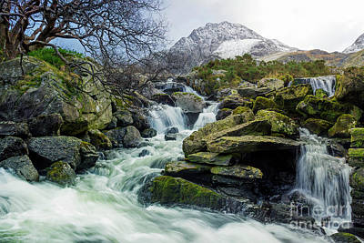 Photograph - Snow Covered Tryfan by Ian Mitchell