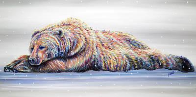 Painting - Snow Dreams by Teshia Art