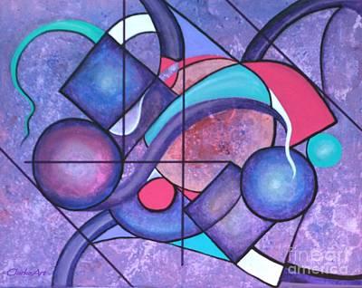 Surrealism Royalty Free Images - Arcane Mathematics Royalty-Free Image by Jean Clarke