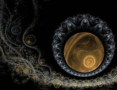 Moody Trees - Somewhere in the Universe-2 by Elena Ivanova IvEA