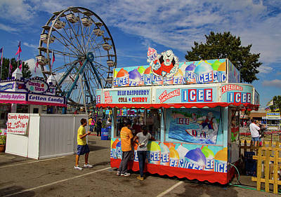 Photograph - South Carolina State Fair  by Joseph C Hinson Photography