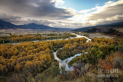 Photograph - South Fork Autumn by Idaho Scenic Images Linda Lantzy