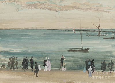 Painting - Southend Pier by James Abbott McNeill Whistler