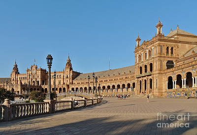 Photograph - Spain Square In Seville, Andalusia by Angelo DeVal