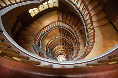 Photograph - Spiral Staircase by Lappes