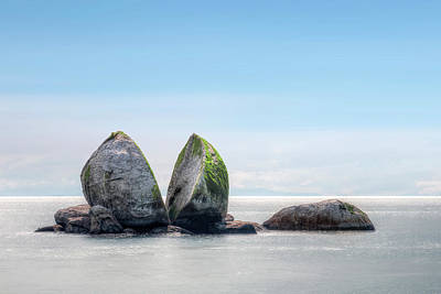 Photograph - Split Apple Rock - New Zealand by Joana Kruse
