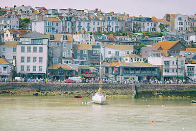 Cornish Wall Art - Photograph - St Ives by Martin Newman