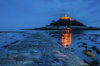 Photograph - St Michael's Mount, Cornwall by David Ross