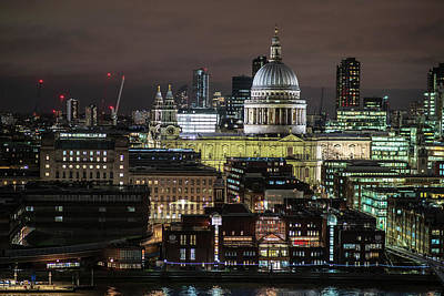 Photograph - St Pauls Cathedral by James Billings