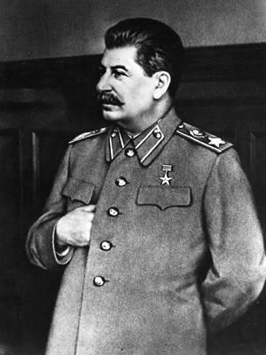 Stalin Art Print by Hulton Archive