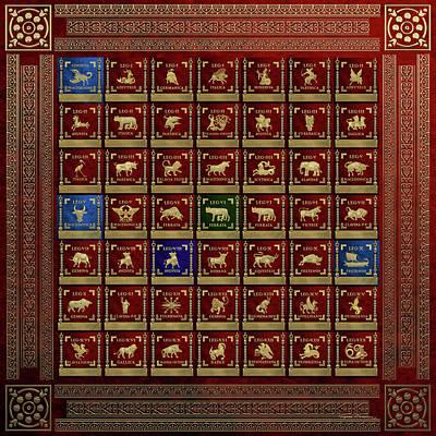 Standards Of Roman Imperial Legions - Legionum Romani Imperii Insignia Original