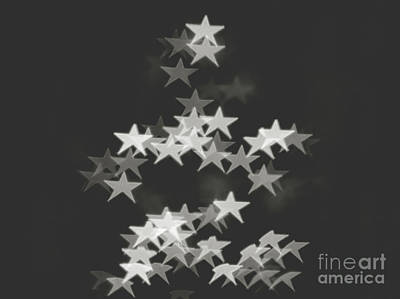 Christmas Patents Rights Managed Images - Starry bokeh BW Royalty-Free Image by Mariusz Talarek