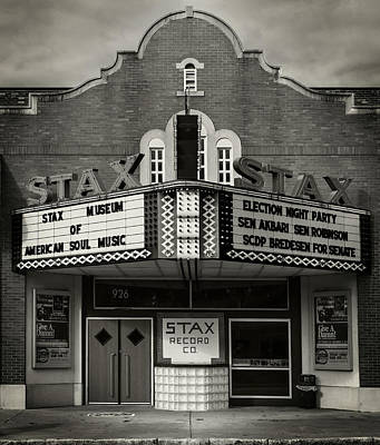Photograph - Stax Records by Bud Simpson