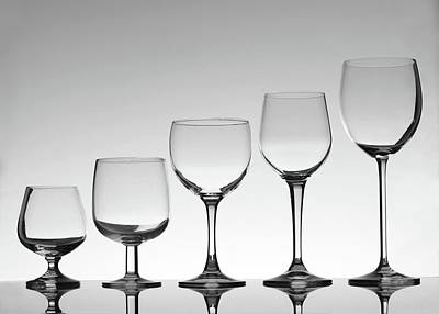 Photograph - Stemware by Donald gruener