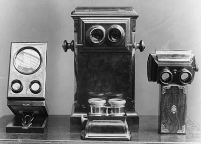Photograph - Stereo Viewers by London Stereoscopic Company