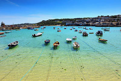 Photograph - St.ives Harbor by Druvo