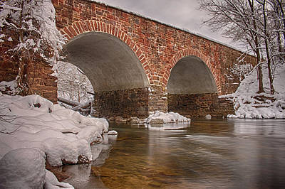 Photograph - Stone Bridge by Travis Rogers