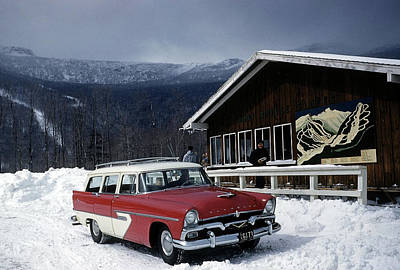 Vermont Photograph - Stowe Vermont by Michael Ochs Archives