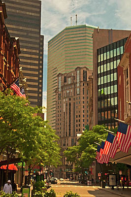Photograph - Summer In Boston by Paul Mangold