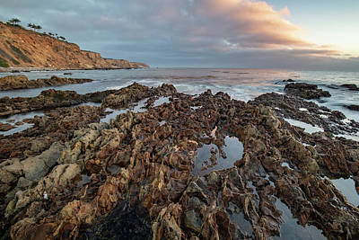 Photograph - Sunset At Christmas Tree Cove by Adam Pender