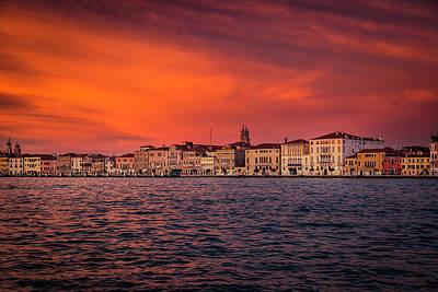 Sean - Sunset in Venice by Pavel Rezac