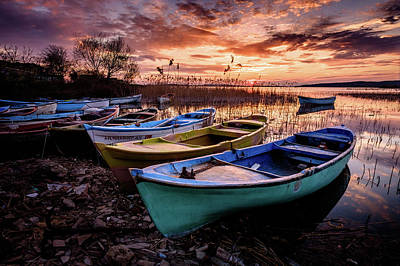 Photograph - Sunset by Okan YILMAZ