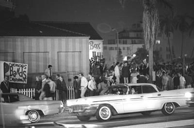 Sunset Photograph - Sunset Strip Curfew Riots by Michael Ochs Archives