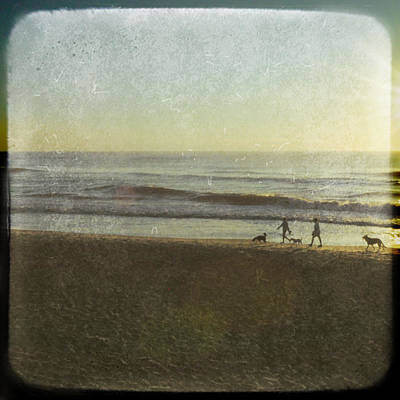 Photograph - Surf Stroll by Jamart Photography