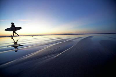 Photograph - Surfer At Beach, Istmo De La Pared by Christoph Jorda / Look-foto