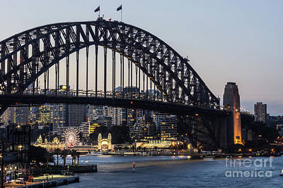 Photograph - Sydney Harbour Bridge by Didier Marti