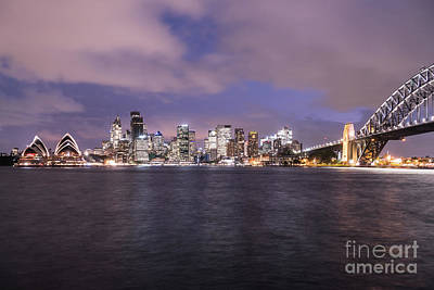 Photograph - Sydney Skyline by Didier Marti