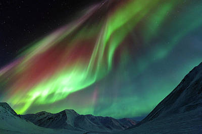 Photograph - Symphony Of Northern Lights by Noppawat Tom Charoensinphon
