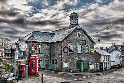 Modern Man Surf Royalty Free Images - Talgarth Town Hall 3 Royalty-Free Image by Steve Purnell