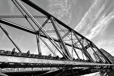 Wall Art - Photograph - Tempe Train Bridge by Elisabeth Lucas